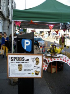 spuds at parking day